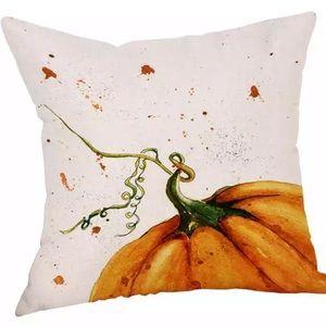 Pumpkin Accent Pillow Cover